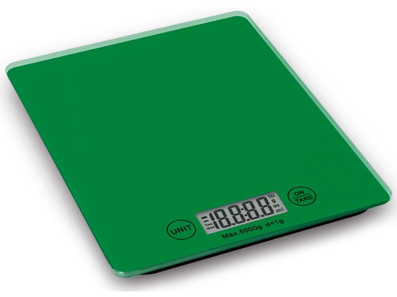 Weis Kuchyňská digitální váha zelená