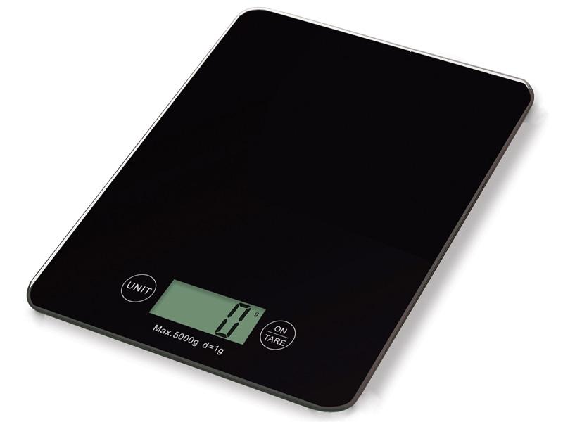 Weis Kuchyňská digitální váha černá