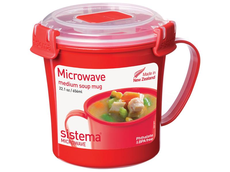 Sistema MICROWAVE Hrnek na polévku 656ml