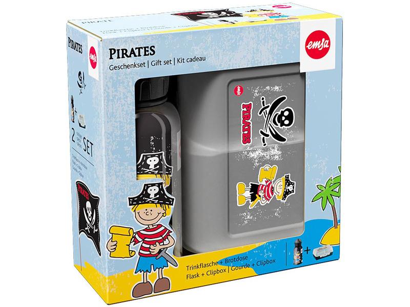 Emsa FLASK Láhev + VARIABOLO Box, pirát