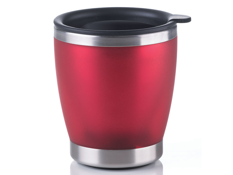 Emsa Termohrnek CITY CUP 0,2l červený