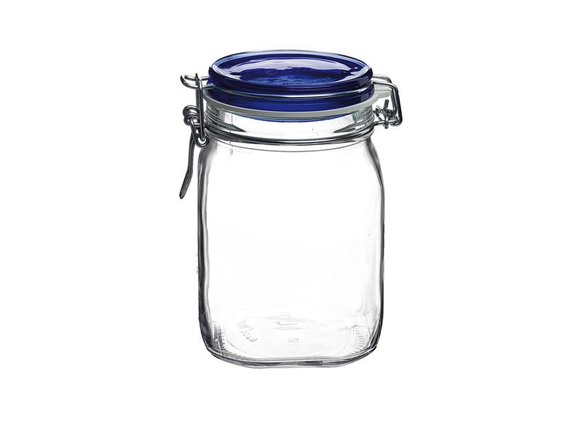 Pengo Spa Zavařovací sklenice Fido 1l modré víko