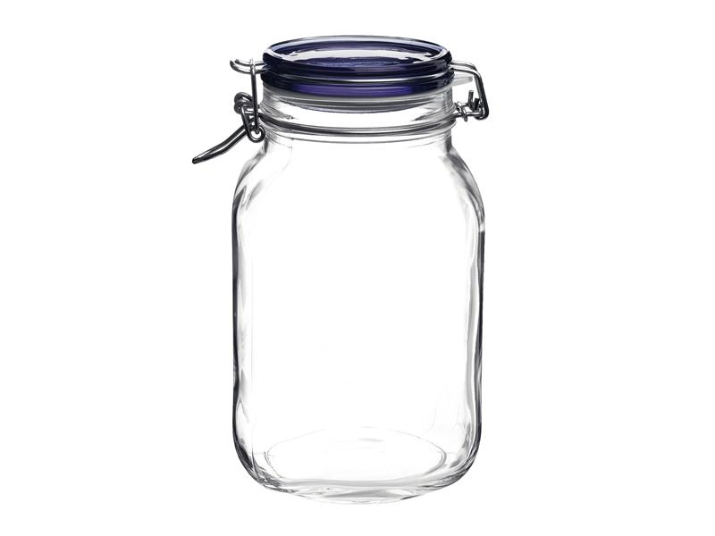 Pengo Spa Zavařovací sklenice Fido 2l modré víko