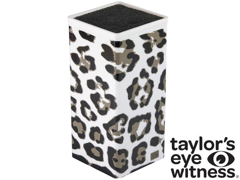 Taylor´s Eye Witness Blok na nože Snow Leopard