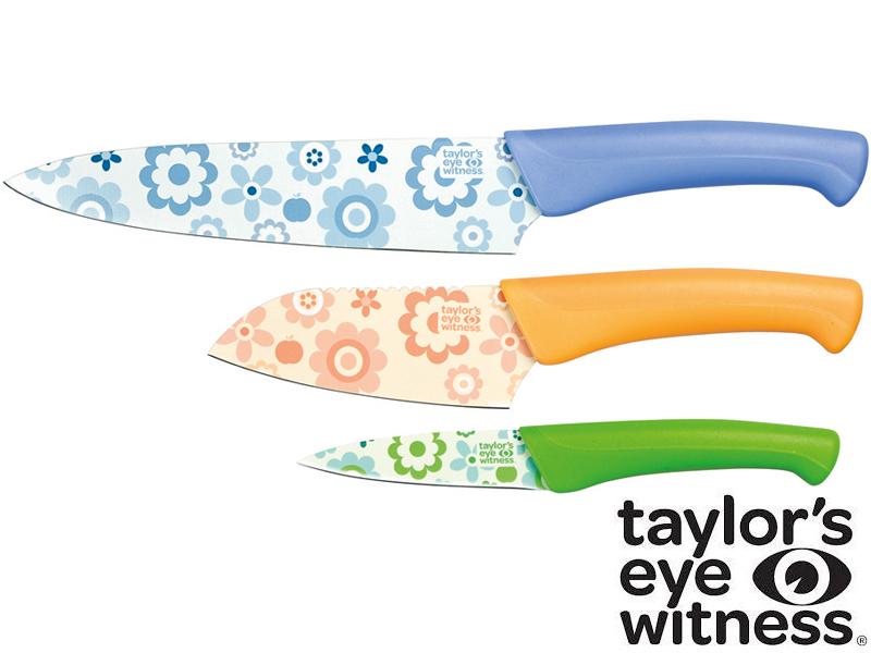 Taylor´s Eye Witness Sada nožů Flower Power
