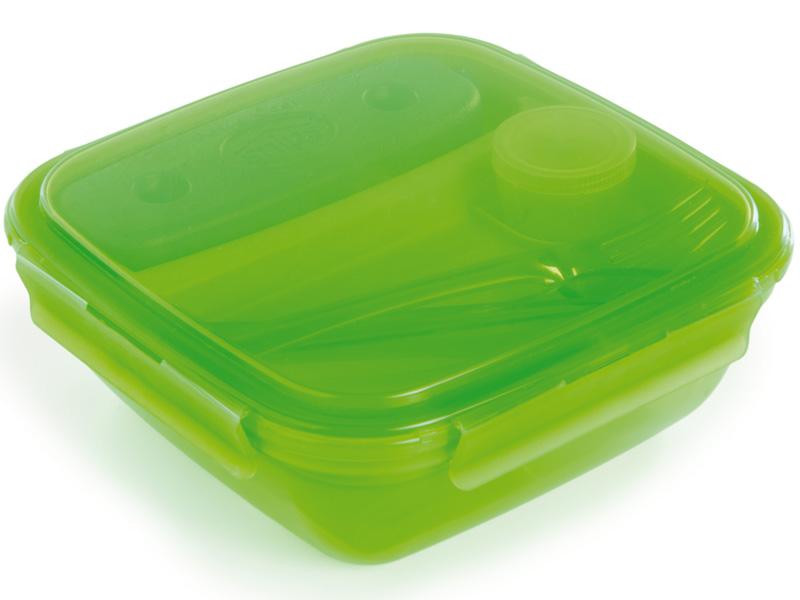 Snips Svačinový box Energy 1,5l - zelený