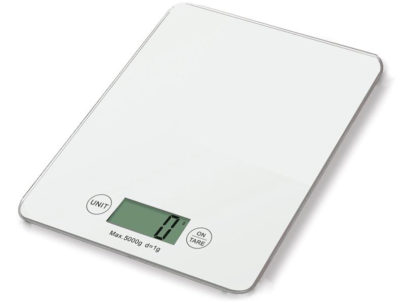 Weis Kuchyňská digitální váha bílá
