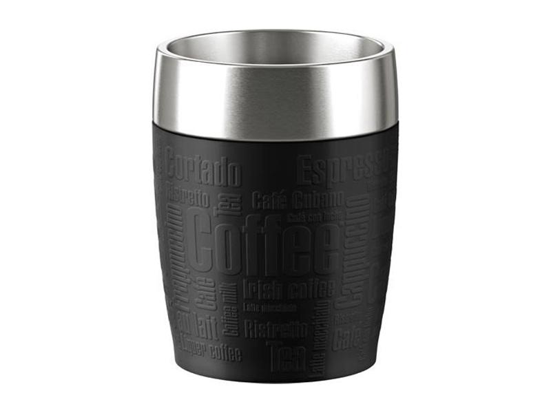 Emsa Termohrnek TRAVEL CUP 0,2l černý