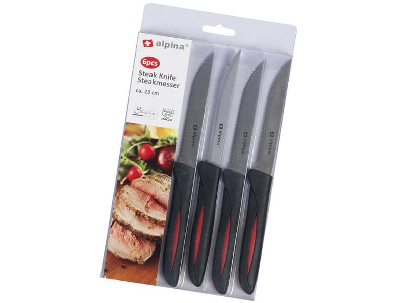 Alpina Steakové nože, 6 ks