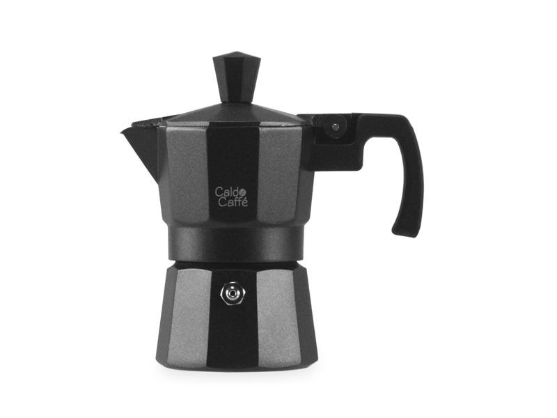 Pengo Spa Moka kávovar Caldo - na 1 šálek, černý
