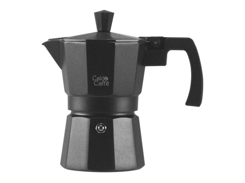Pengo Spa Moka kávovar Caldo - na 3 šálky, černý