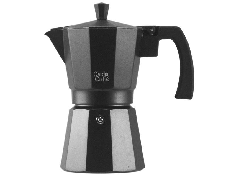 Pengo Spa Moka kávovar Caldo - na 6 šálků, černý