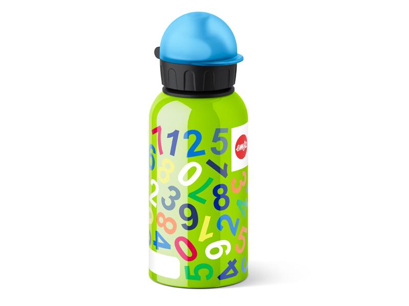 Emsa Dětská láhev FLASK KIDS - ČÍSLA 0,4l