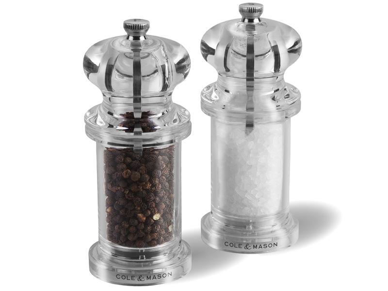 Cole and Mason Sada mlýnků na pepř a sůl 505