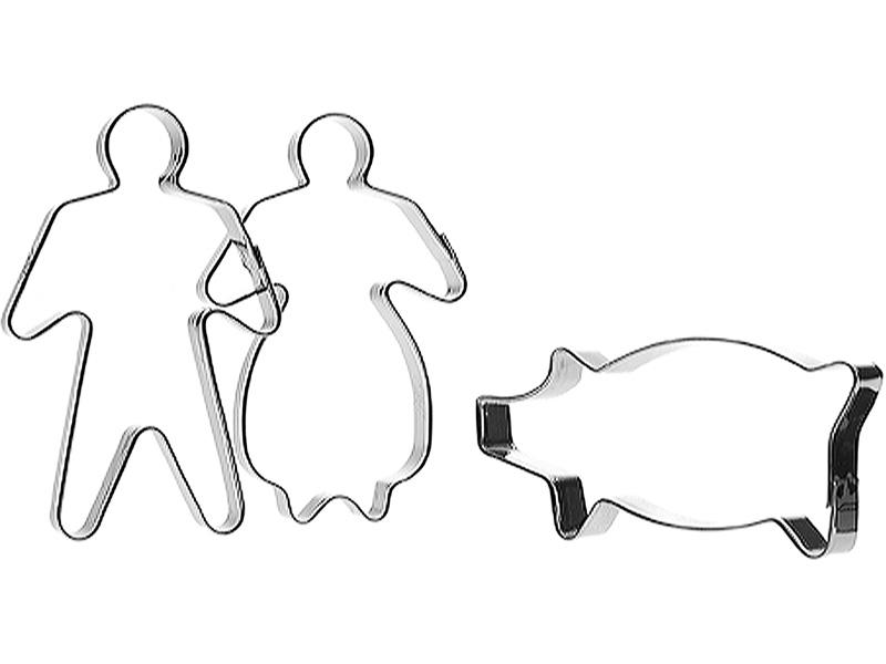 Orthex Group Vykrajovátka na cukroví - sada