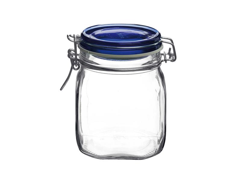Pengo Spa Zavařovací sklenice Fido 0,75l modré víko