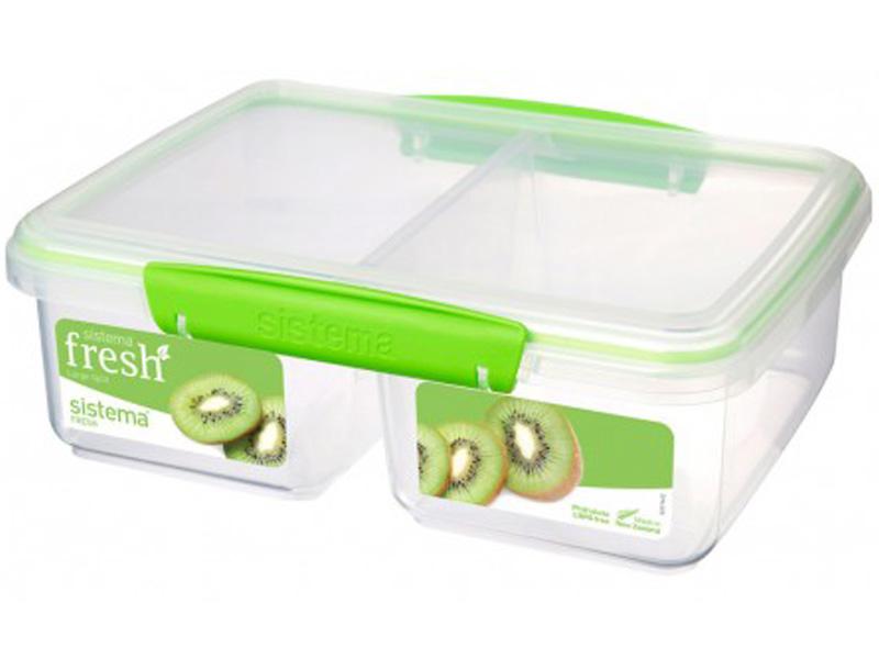 Sistema Svačinový box Large Split Fresh 1,9l