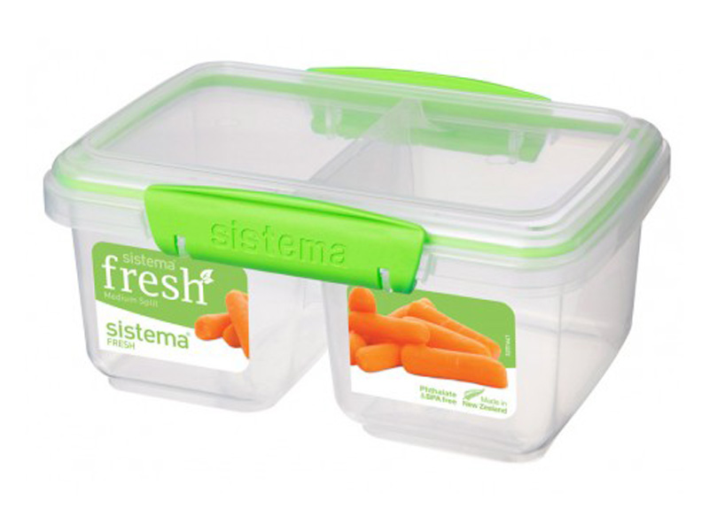 Sistema Svačinový box Medium Split Fresh 835ml 951620
