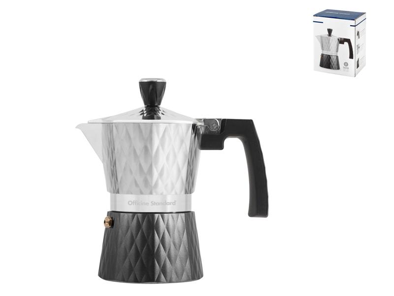 Pengo Spa Moka kávovar Diamant na 2 šálky antracitový